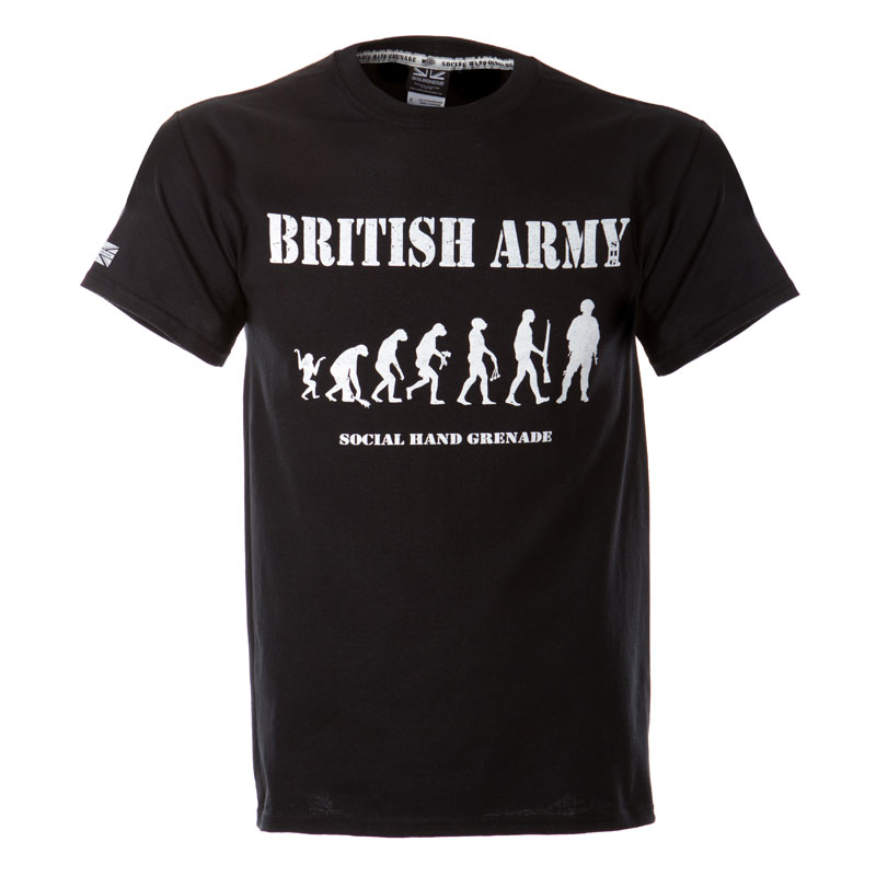 Evolution of the warrior t-shirt, Army